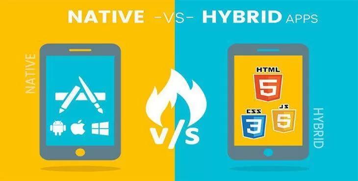 برنامه نویسی Web و Native و Hybrid