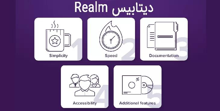 Realm Realm ، Sqlite یا Room